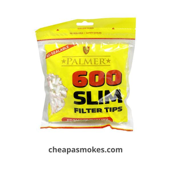 Palmer Slim Filter Tips 600's Bag