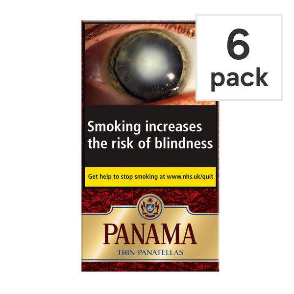 Panama Thin Panatella 6's
