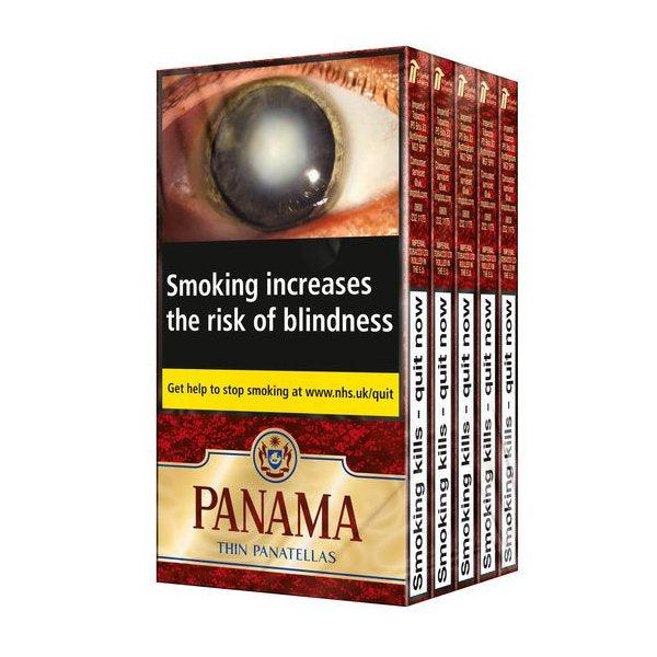 Panama Thin Panatella Multipack 5 x 6