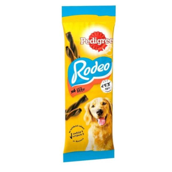 Pedigree Rodeo Adult Dog Treats with Beef 4 Chews 70g