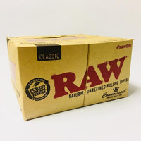 Raw Classic Connoisseur Rolling Papers and King Size Tips