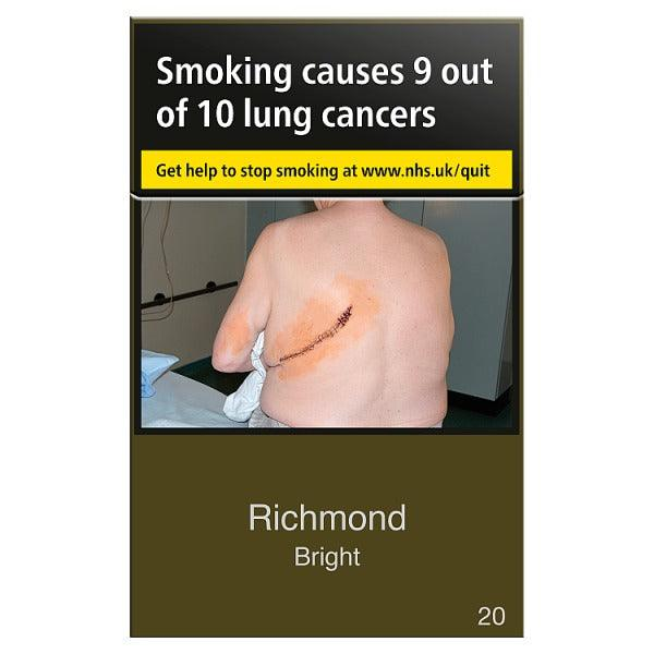 Richmond **Bright** King Size Cigarettes