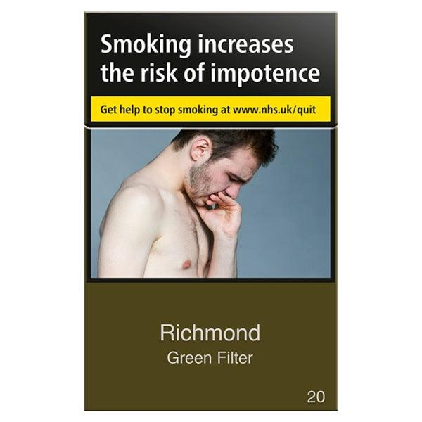 Richmond Green Filter King Size (Not Menthol)