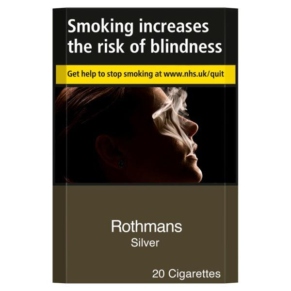 Rothmans Silver King Size Cigarettes