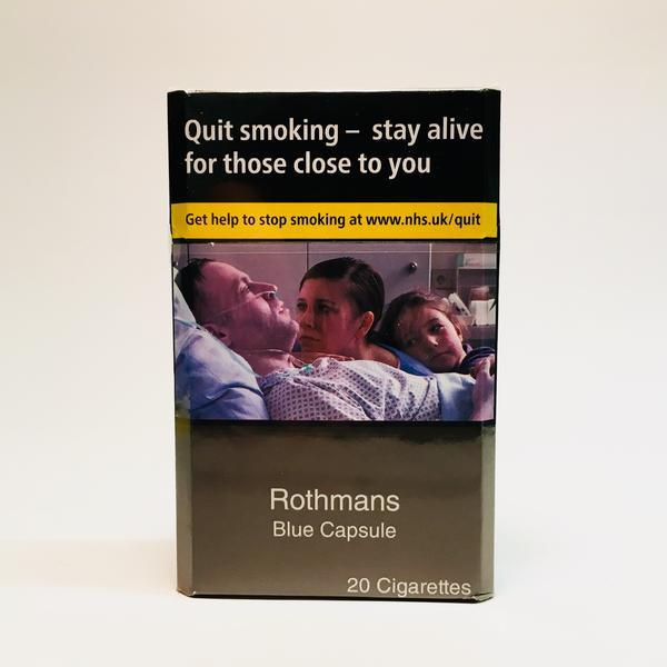 Rothmans Blue Capsule King Size Cigarettes
