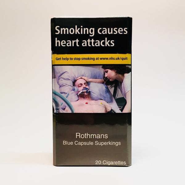 Rothmans Blue Capsule Superking Cigarettes