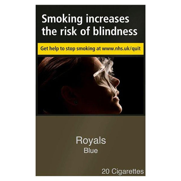Royals Blue King Size Cigarettes