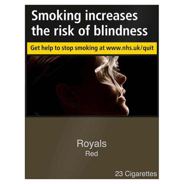 Royals Red King Size 23's Cigarettes