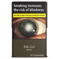 Silk Cut Silver King Size Multipack Cigarettes