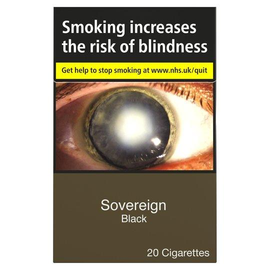 Sovereign Black King Size Multipack Cigarettes