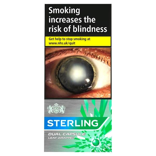 Sterling Dual Capsule Leaf Wrapped Cigarillos