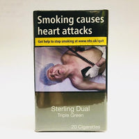 Sterling Dual Triple Green King Size Cigarettes
