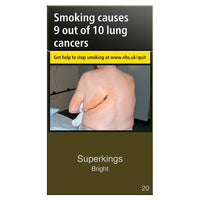 Superkings Bright Blue Cigarettes