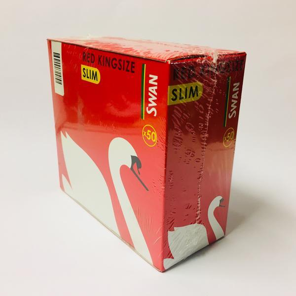 Swan King Size Red Slim Rolling Papers