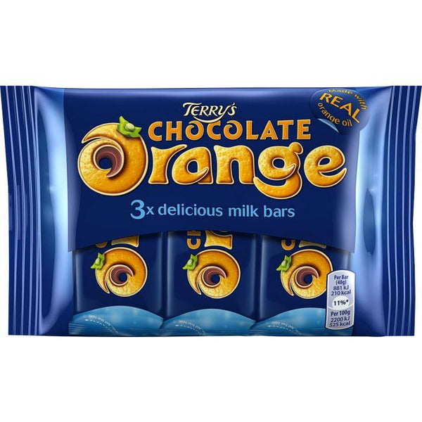 Terry's Chocolate Orange Bar 3 Pack