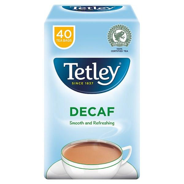 Tetley Original Decaf Tea Bags x40