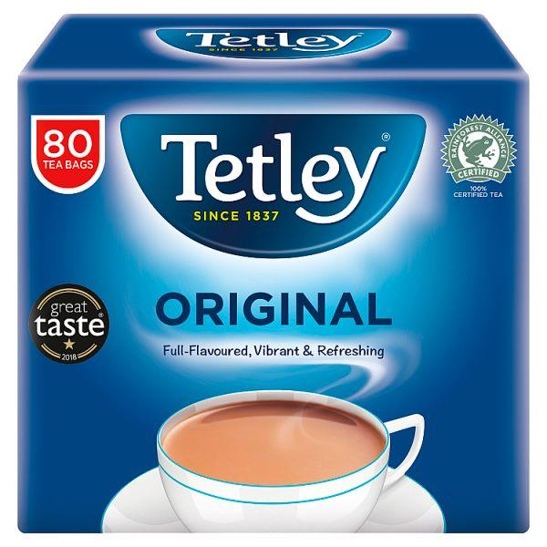 Tetley Original Tea Bags x80
