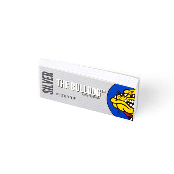 The Bulldog Filter Tip Silver