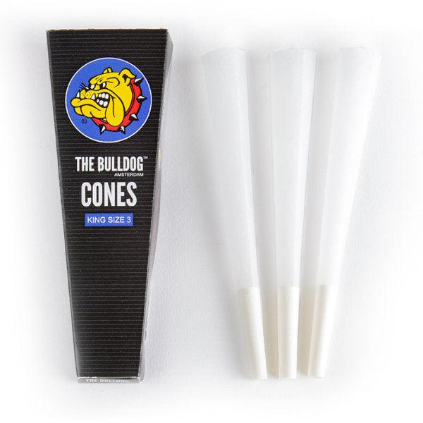 The Bulldog King Size Cones 3 Pack