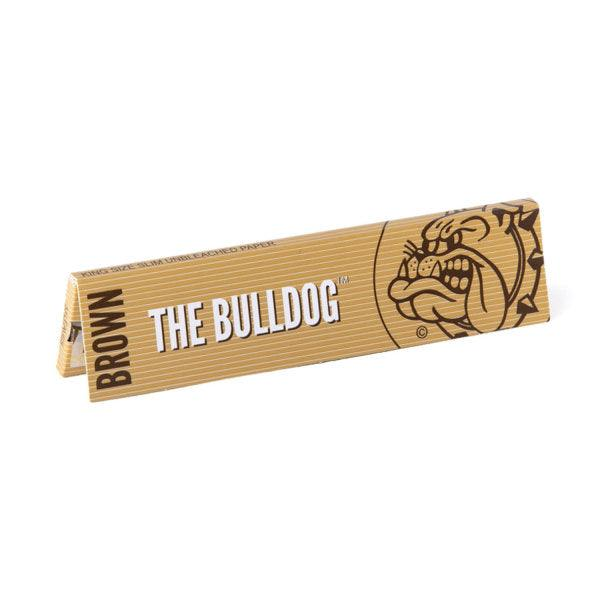 The Bulldog Rolling Paper King Size Slim Brown