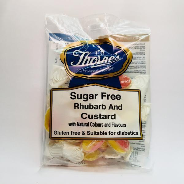 Thornes Sugar Free Rhubarb and Custard