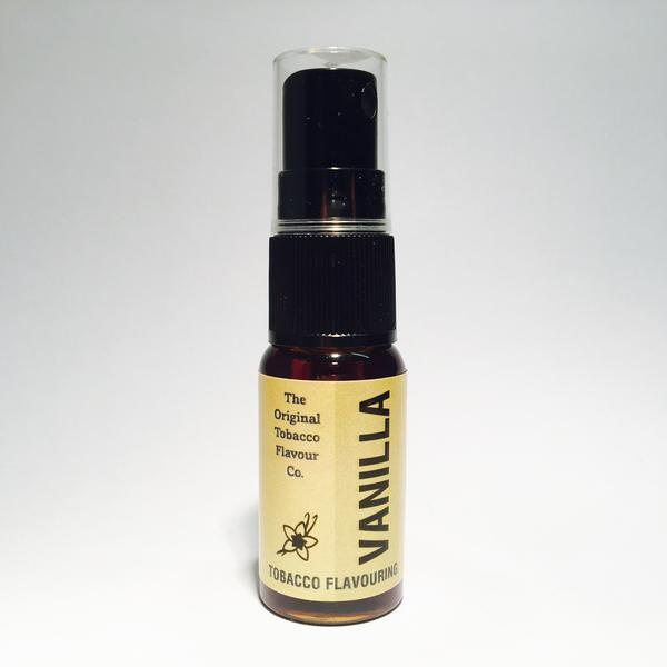 Vanilla Tobacco Flavour Spray (15ml Bottle)