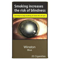 Winston Blue King Size Cigarettes