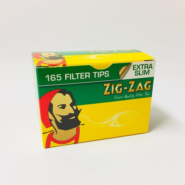 Zig Zag Extra Slim Filter Tips Box of 165