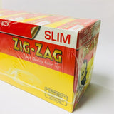 Zig Zag Slim Filter Tips Box of 165