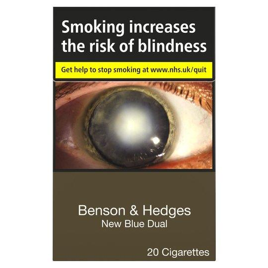 Benson & Hedges New Blue Dual King Size (Not Capsules)