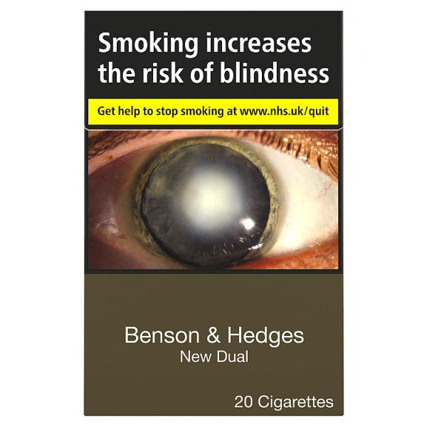 Benson & Hedges New Dual Cigarettes