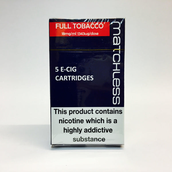 Matchless Full Strength Tobacco 18mg