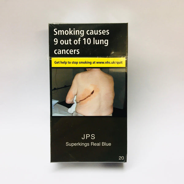 JPS Superkings Real Blue Cigarettes