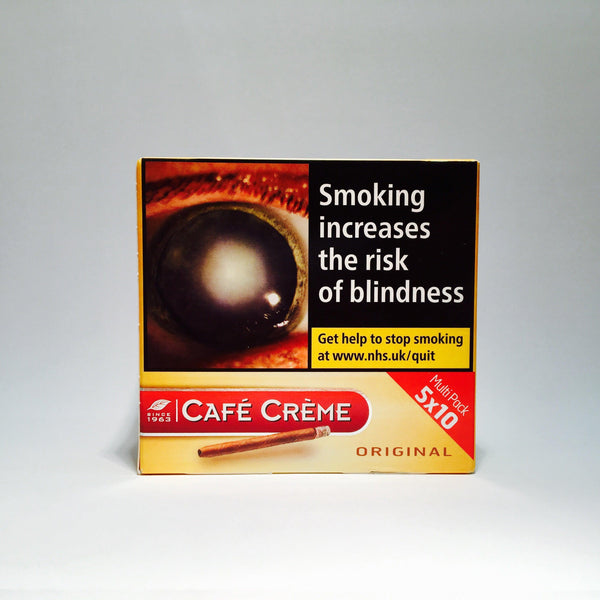 Cafe Creme Original Yellow 5 x 10 Tins