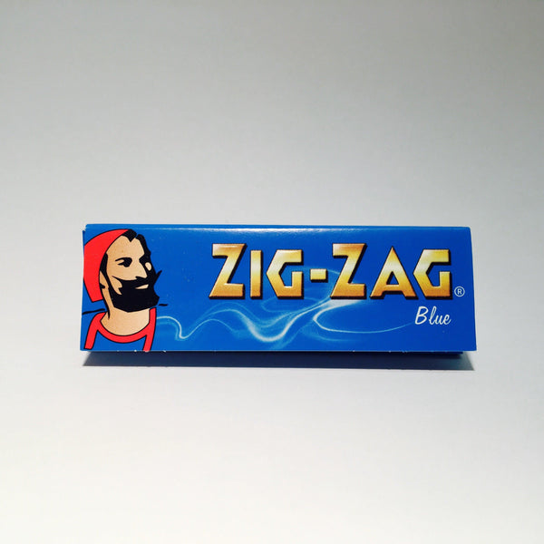 Zig Zag Regular Blue Paper