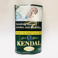 Kendal Gold GREEN Shag Smoking Tobacco 25gm
