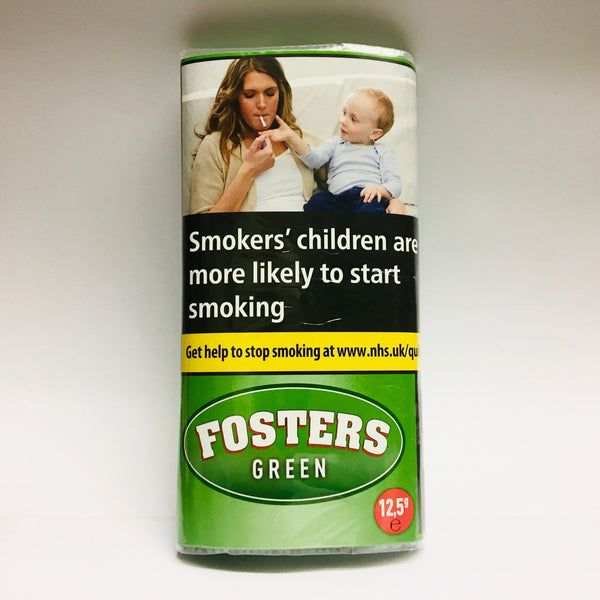 Fosters Green Menthol 12.5gm Smoking Tobacco