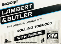 Lambert and Butler Hand Rolling Tobacco 50gm