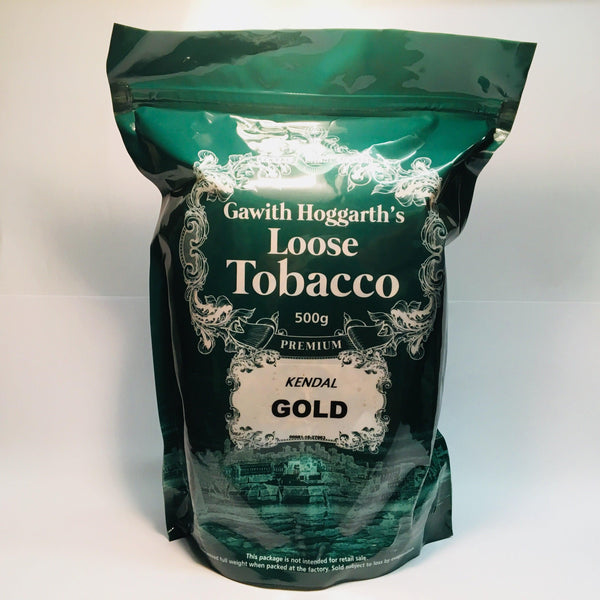 Kendal Gold Shag Tobacco Unscented (Plain) Resealable Bag