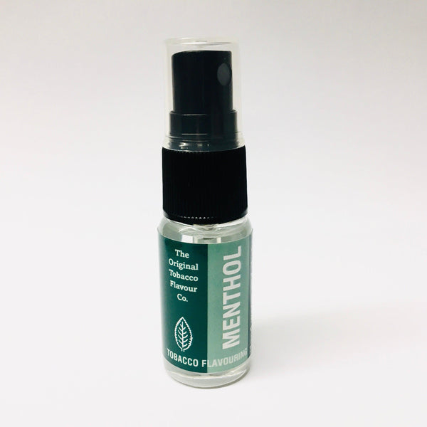 Menthol Tobacco Flavour Spray (15ml Bottle)