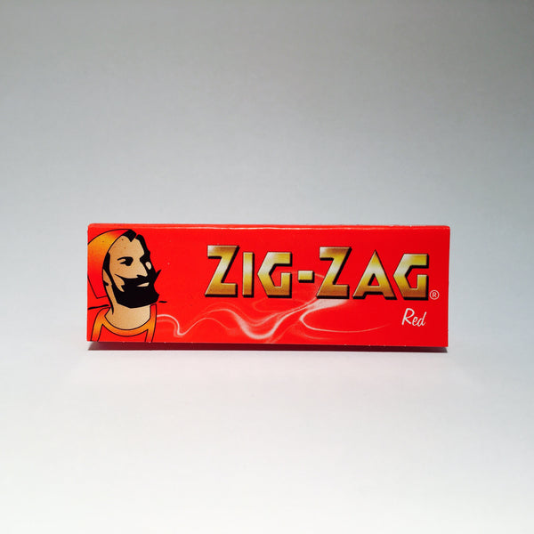 Zig Zag Regular Red Paper