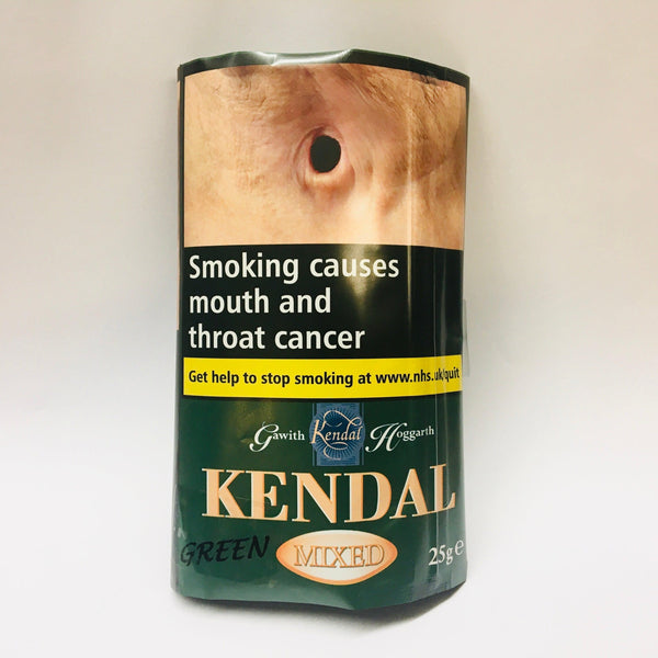 Kendal Mixed GREEN Shag Smoking Tobacco 25gm