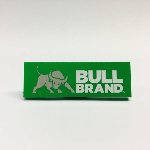 Bull Brand Green Rolling Papers x25