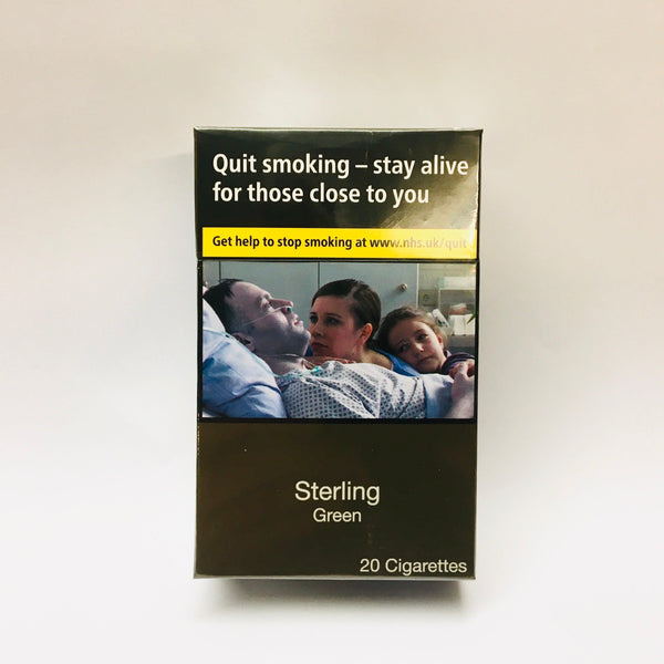Sterling Green King Size Cigarettes
