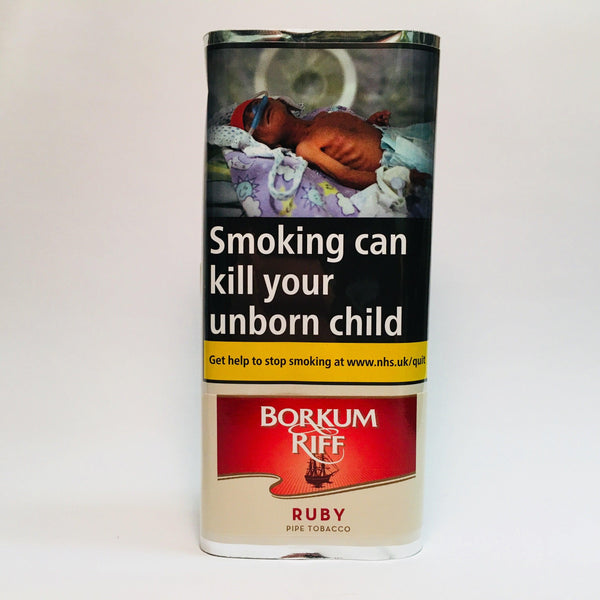 Borkum Riff Ruby (Formerly Cherry) Pipe Tobacco 50 Gram