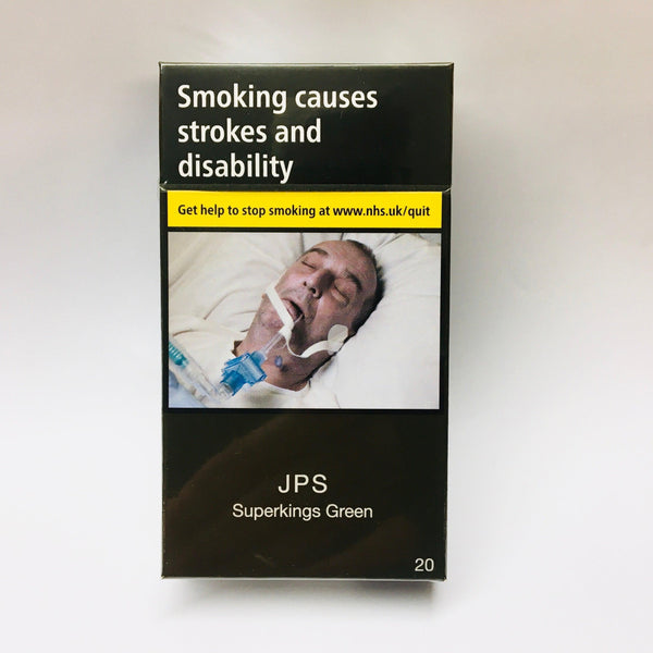 JPS Superkings Green Cigarettes