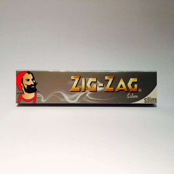 Zig Zag King Size Silver Paper