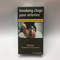 Mayfair Original Blue **Superking** Cigarettes
