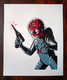 'Mars Attacks' Portrait Print