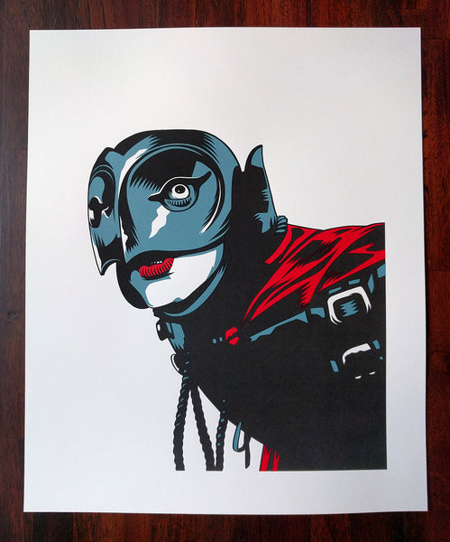 'The Phantom' Portrait Print